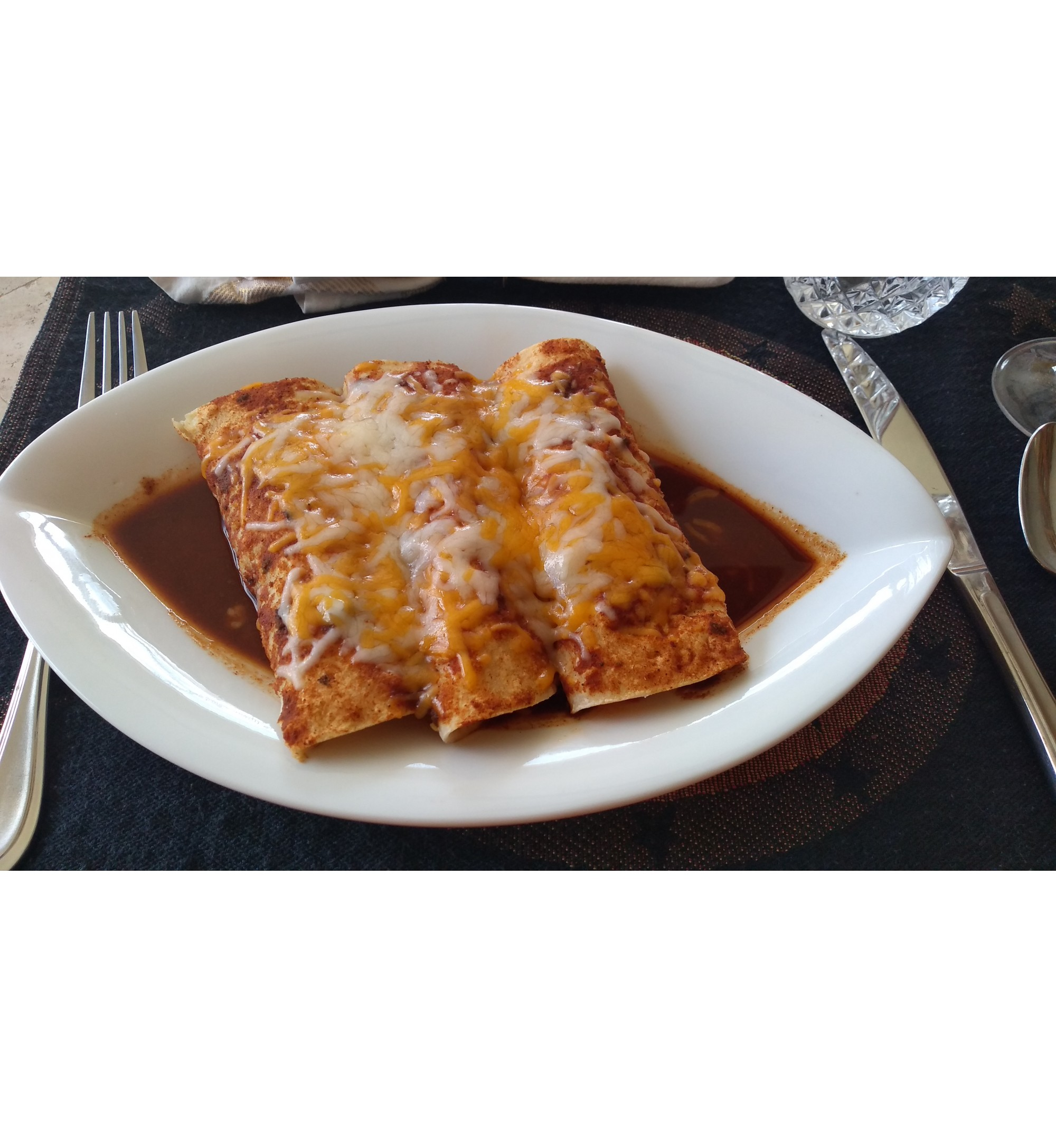 3 Cheese enchilada - Spicy